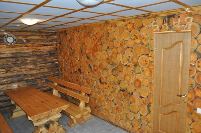 Русская баня в Околице фото зоны отдыха