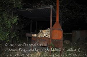 Сауна на Теремках фото мангала