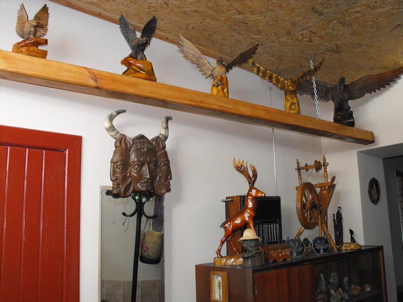 Русская баня на дровах в селе Вильное фото интерьера