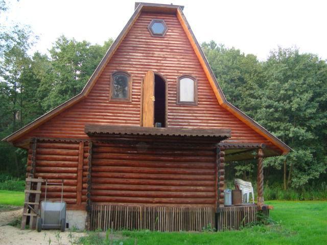 Русская баня в селе Ясногородка