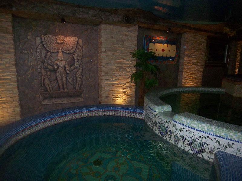 VIP-сауна БАН-ТУ фото большого бассейна