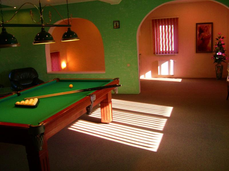 Сауна У Михалыча фото бильярдной комнаты