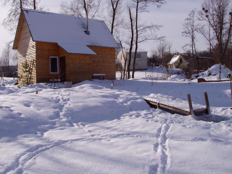 Озерная баня в Киеве фото зимой