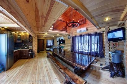 Русская баня в доме на воде фото комнаты отдыха