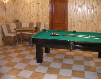 Сауна на Абрикосовой фото бильярдной комнаты