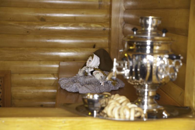 Русская баня в «Царьграде» фото самовара