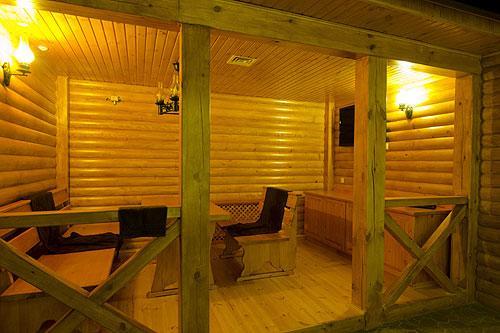 Русская баня в «Царьграде» фото зоны отдыха