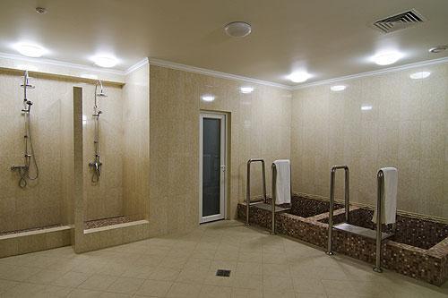 Русская баня в «Царьграде» фото бассейнов и душевых
