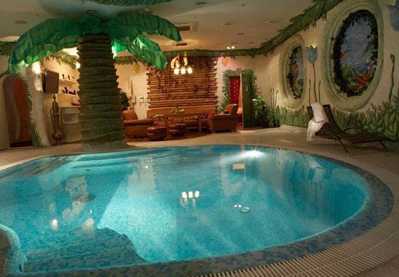 VIP-Сауна Бали бассейн
