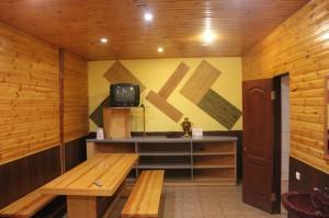 Русская баня Дача фото зоны отдыха